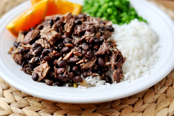 Slow Cooker Brazilian Feijoada from Mel's Kitchen Cafe found on SlowCookerFromScratch.com