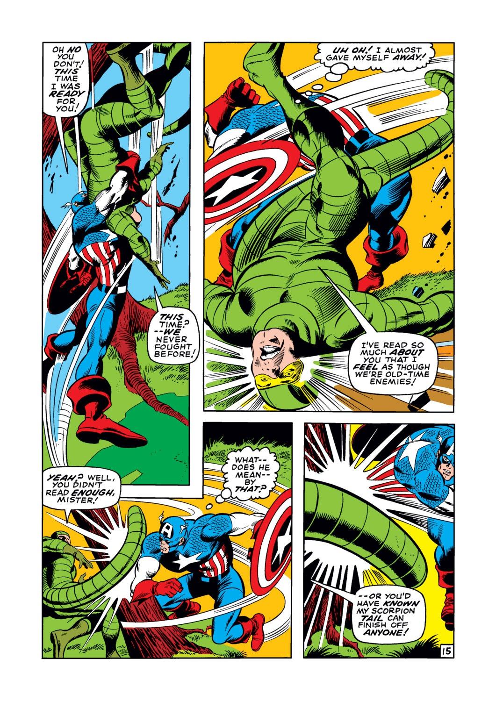 Captain America (1968) Issue #122 #36 - English 16