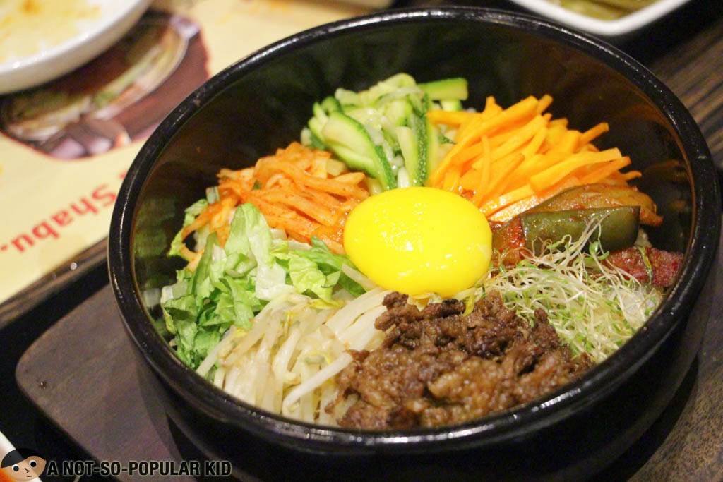 The interesting and great bibimbap of Bulgogi Brothers