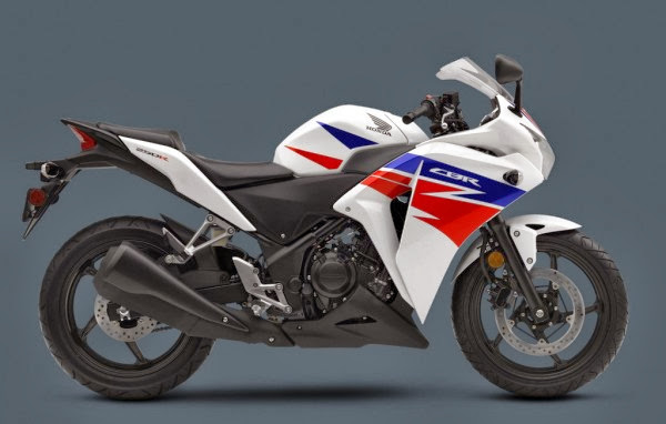 2013 Honda CBR 250 R White color