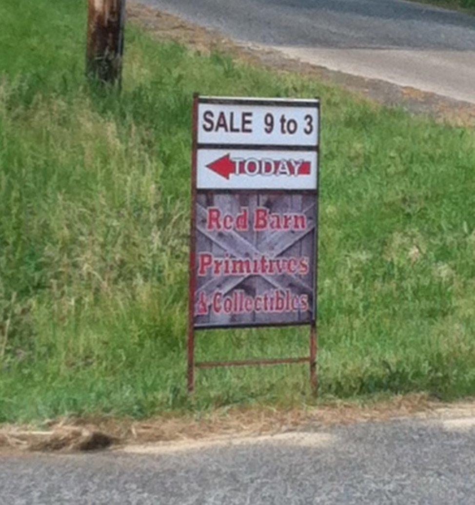 Rock River Stitches: More Red Barn Sale Pics