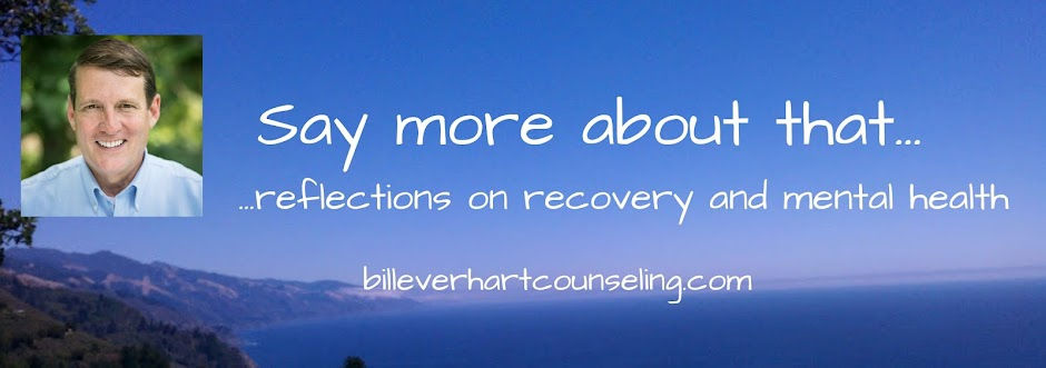 Say More About That: A Blog About Addiction, Recovery and Mental Health