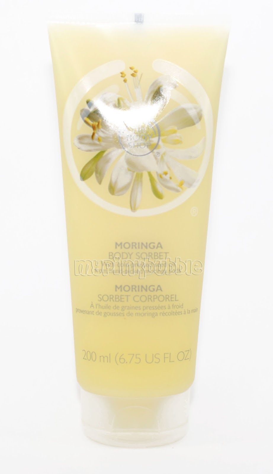 Body shop body sorbet moringa