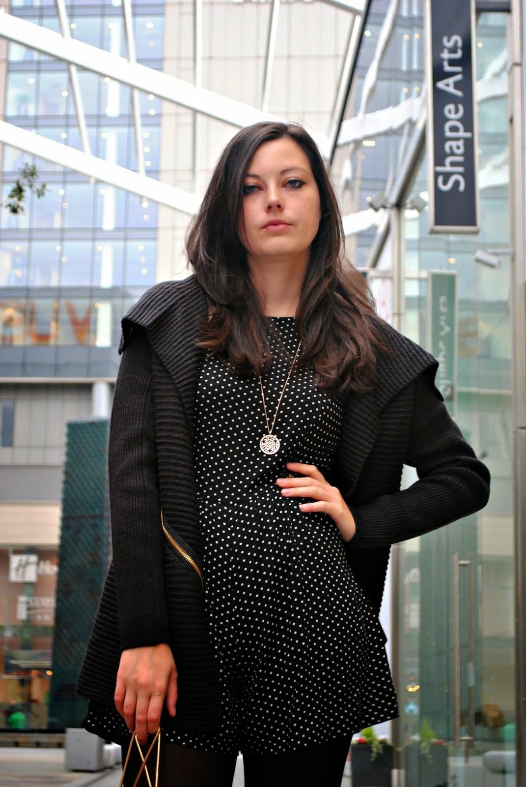 Autumn River Island London Fashion post ootd