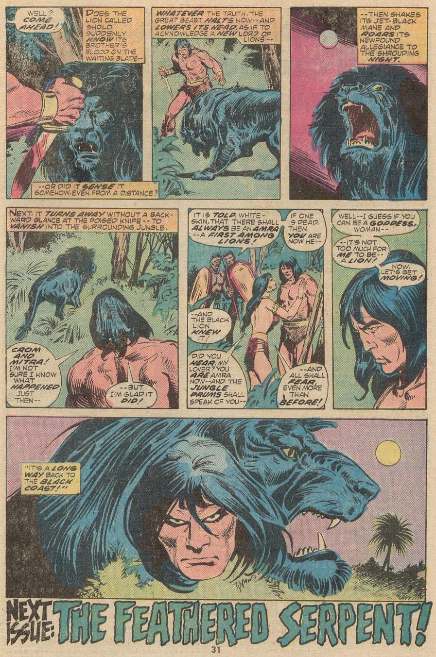 Conan the Barbarian (1970) Issue #63 #75 - English 22