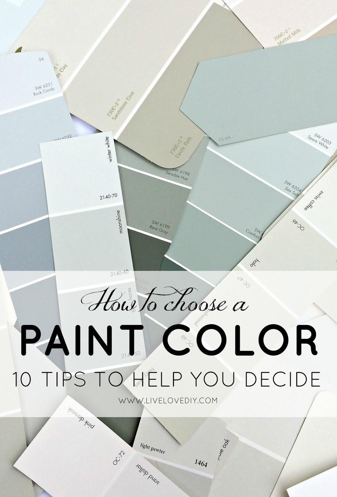 how to choose a paint color 10 tips to help you decide livelovediy bloglovin. Black Bedroom Furniture Sets. Home Design Ideas