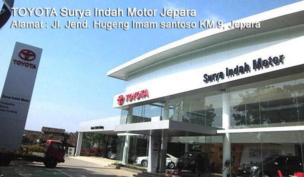 HARGA Mobil TOYOTA Surya Indah Motor JEPARA