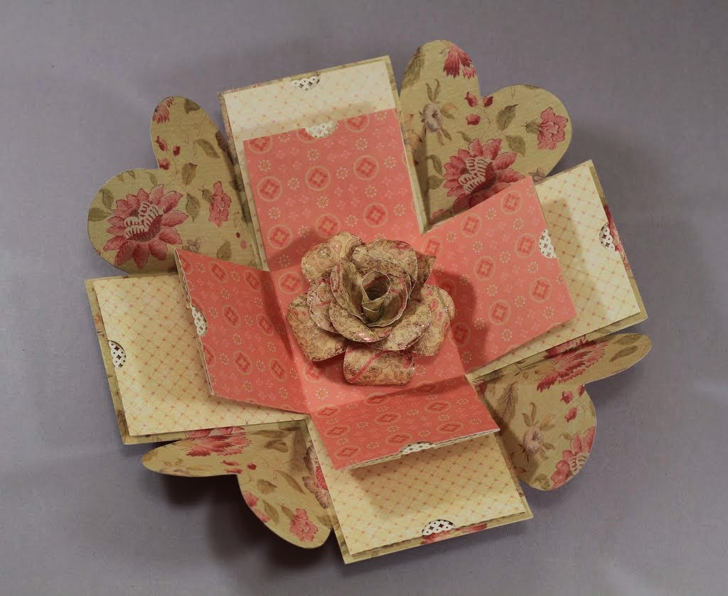 The paper boutique explosion box by donna