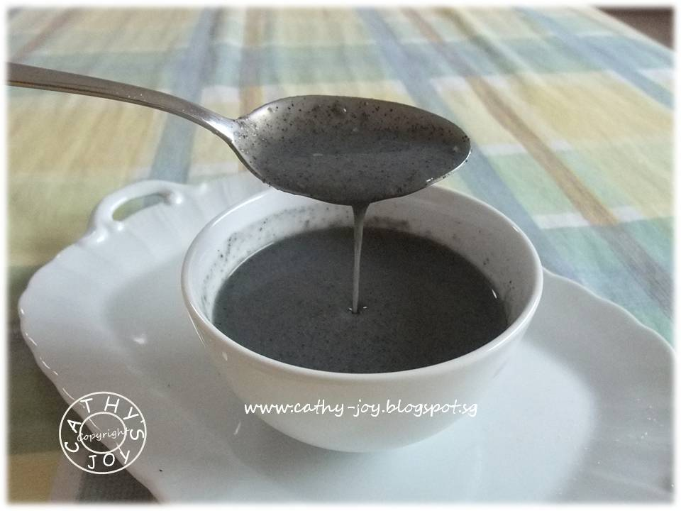 cathy's joy: Black Sesame Paste