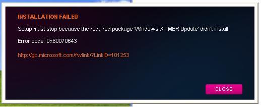 Buscando Microsoft.net FrameWork para Windows XP SP3