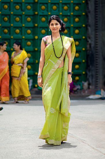 High Collar Saree Blouse