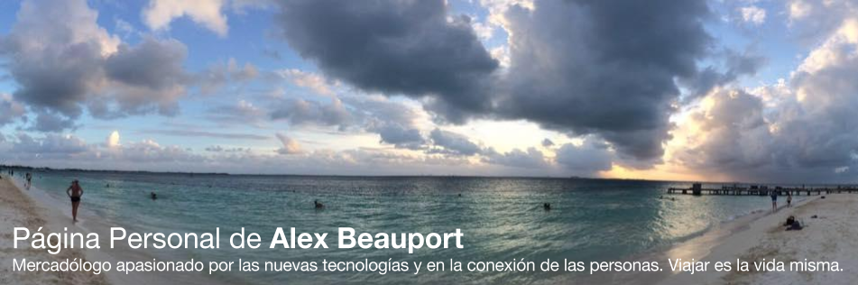 Blog personal de Alex Beauport