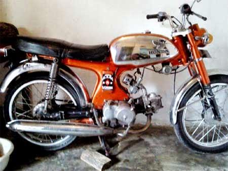 koleksi gambar motor Honda