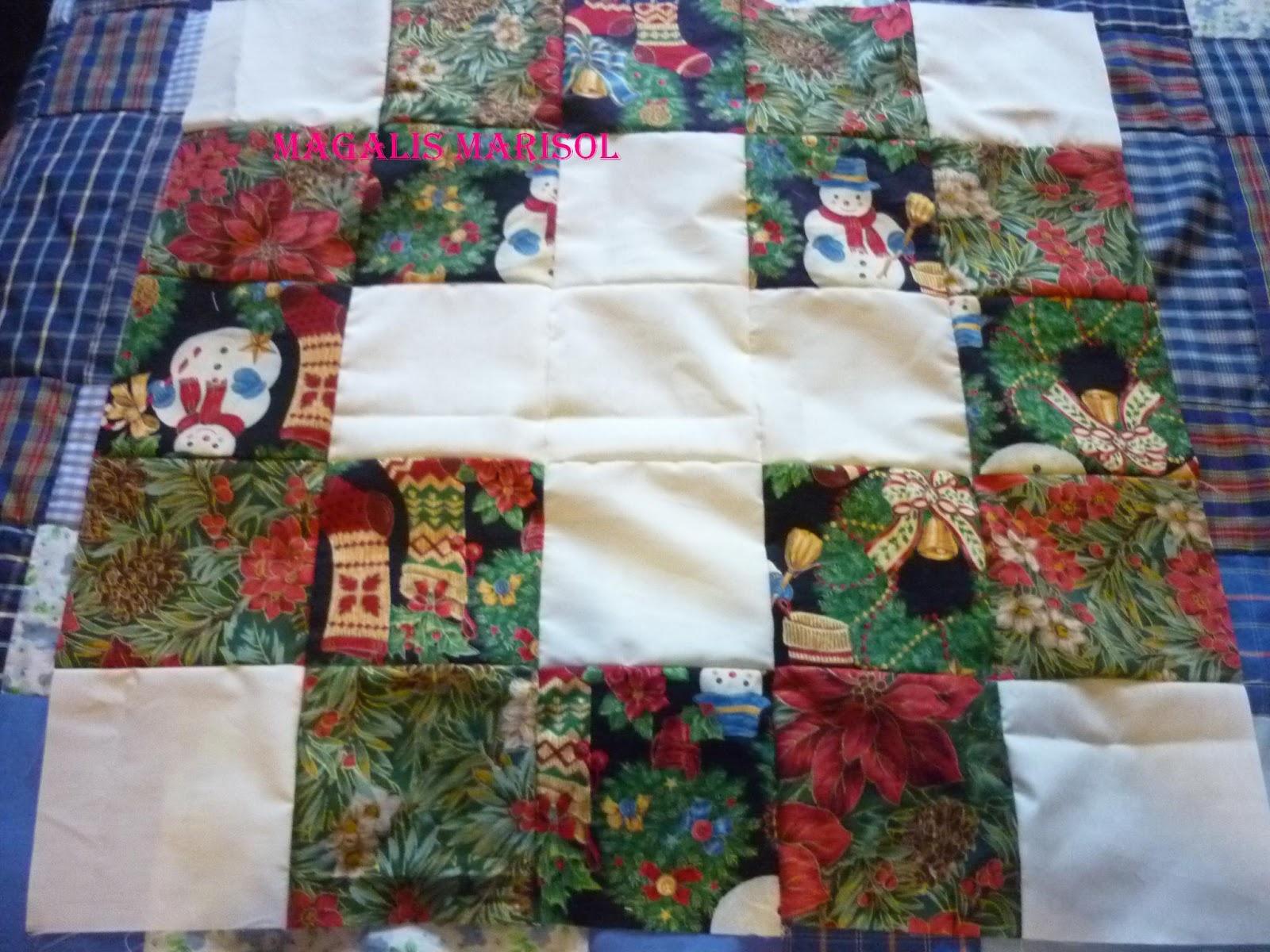 Retales o patchwork como hacer una colcha cojines o mantas - Hacer una colcha de patchwork ...