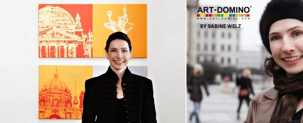 ART-DOMINO® – CITIES IN POP ART by SABINE WELZ