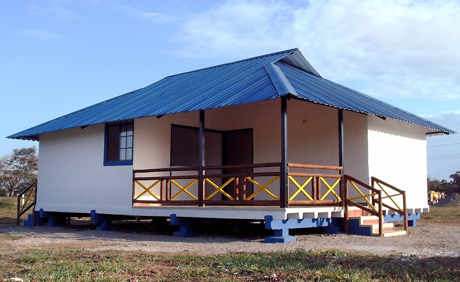 Casas y caba as prefabricadas villavicencio for Casas prefabricadas de diseno minimalista