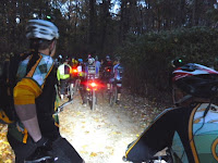 Riders just before the start of the All Hallows Eve mountain bike race, October 29 2013.  The Saratoga Skier and Hiker, first-hand accounts of adventures in the Adirondacks and beyond, and Gore Mountain ski blog.