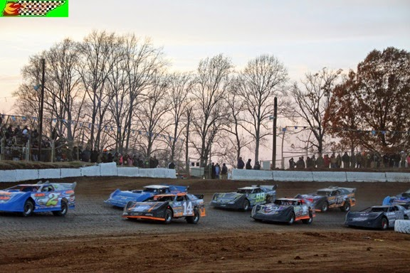 Duck River Raceway Park Deep Fried 75, 11/15/2014 (Steven Luboniecki photo for Middle Tennessee Racing Scene)
