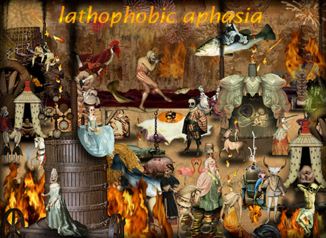 lathophobic aphasia