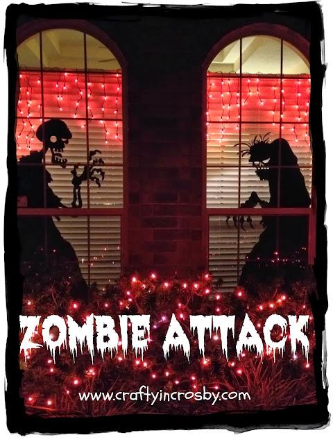 The Walking Dead, Halloween Window Art, Halloween Decorations, Zombies