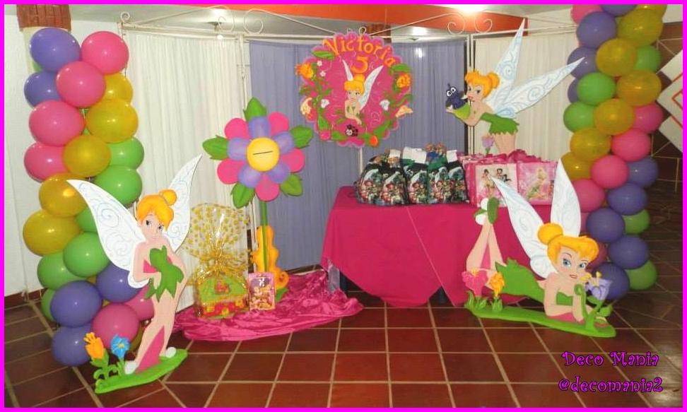 Fiestas Deco Mania : fiesta de cumpleaños Campanita, Tinkerbell