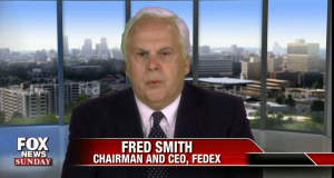 Fred Smith: Chairman and CEO of FEDEX