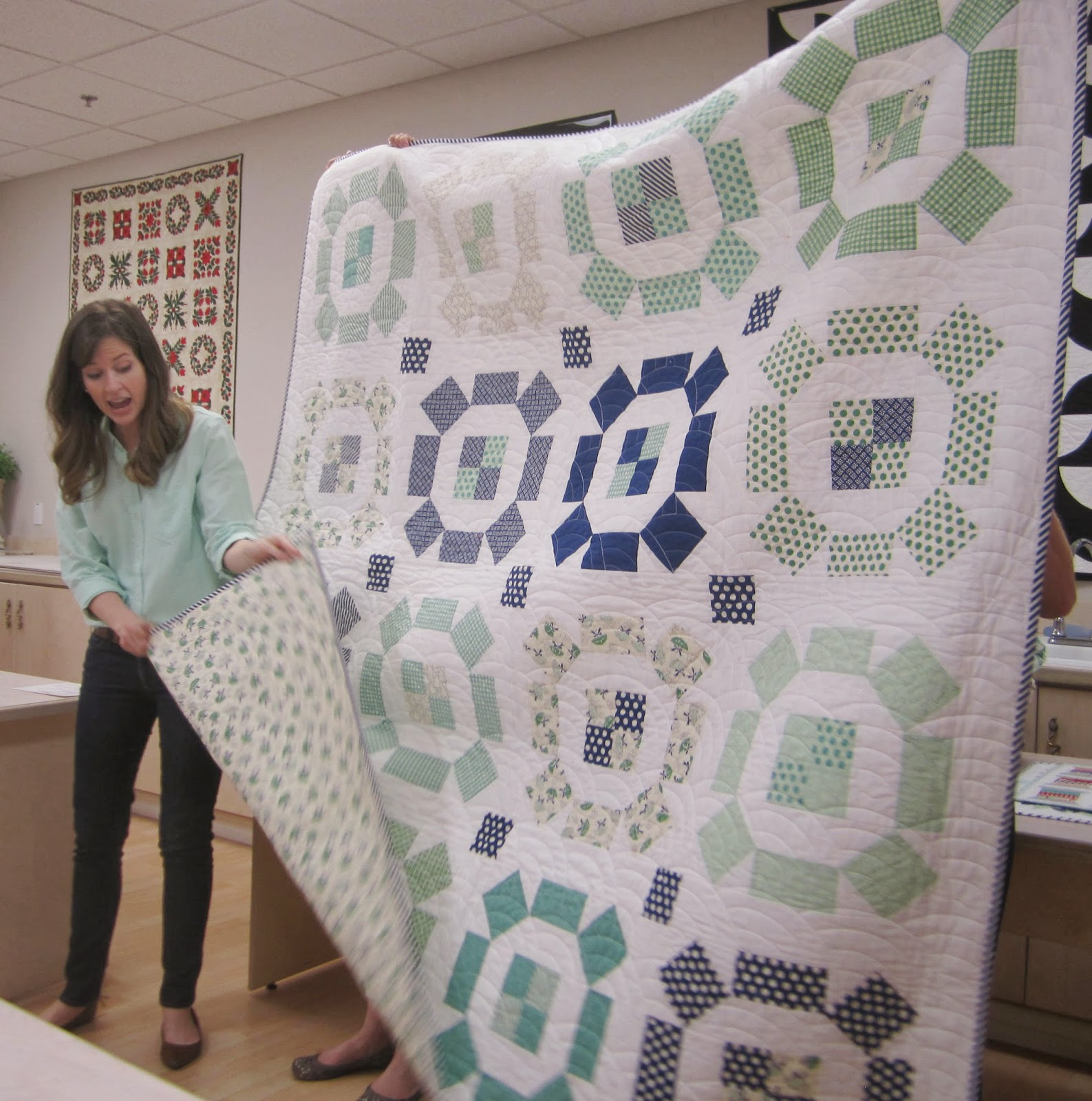 camille roskelley's puddle jumping quilt