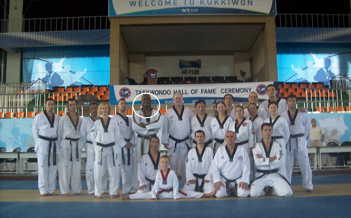 WELCOME TO KUKKIWON 2011 TAEKWONDO HALL OF FAME TRAINING SESSION