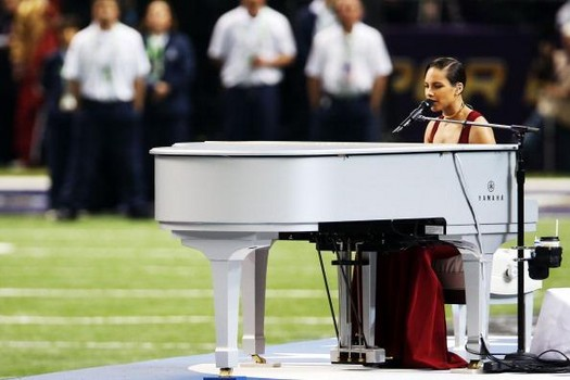 alicia keys super bowl 2013