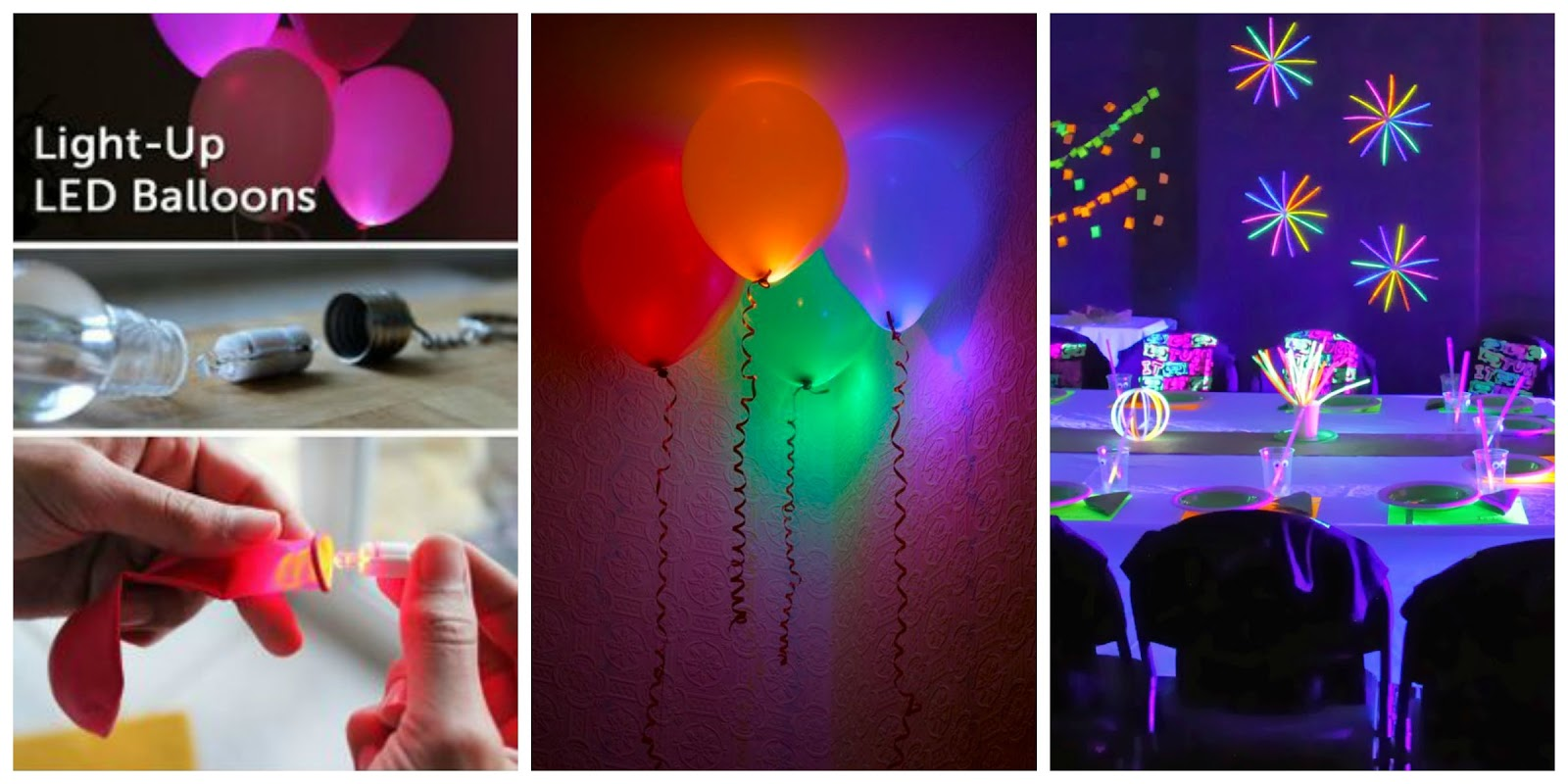Neon Party... Ideas para la Decoración, Outfit y Accesorios - Artes ...