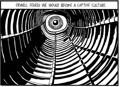 orwell vs huxley In 1949, george orwell received a curious letter from his former high school french teacher huxley starts off the letter praising the book, describing it as profoundly important he continues, the philosophy of the ruling minority in nineteen eighty-four is a sadism which has been carried.