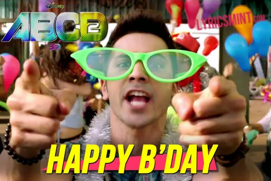Happy Birthday from ABCD 2
