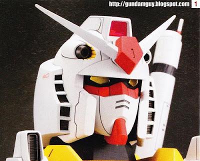 1/48 RX78-2 Gundam The Origin Head Display Base