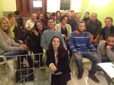 Aula inaugural da nova turma em Porto Alegre/RS