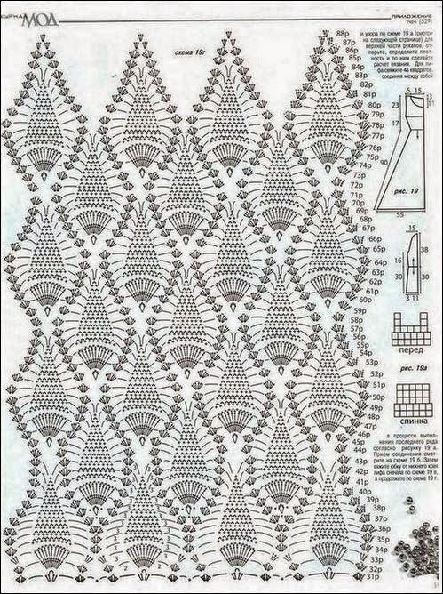 Perfecto Crochet Patrón De Vestido De Novia Imágenes - Ideas de ...