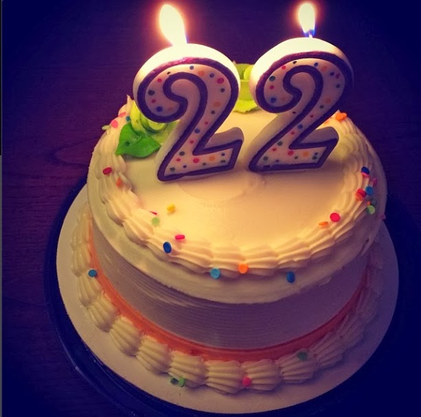 Поздравление с днем рождения на 22 года девушке в прозе