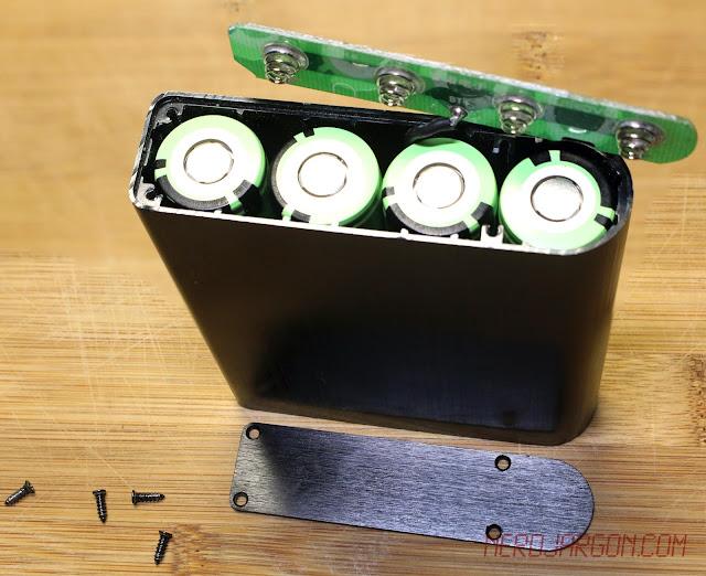 Ruinovo DIY USB Power Bank With 4 Panasonic NCR18650B Unprotected Cells - 3