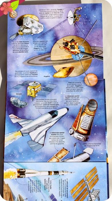 Mon livre des planètes et des étoiles - éditions Usborne