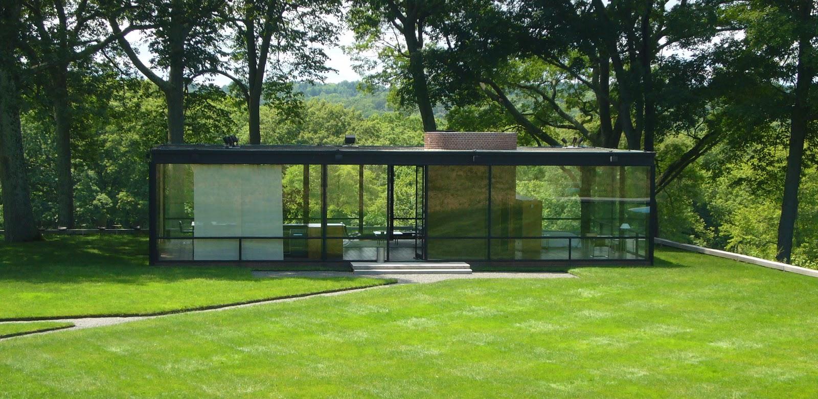 La casa de cristal de philip jonhson blog arquitectura y for Blog arquitectura y diseno