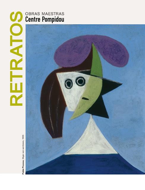 cartel con obra de Picasso