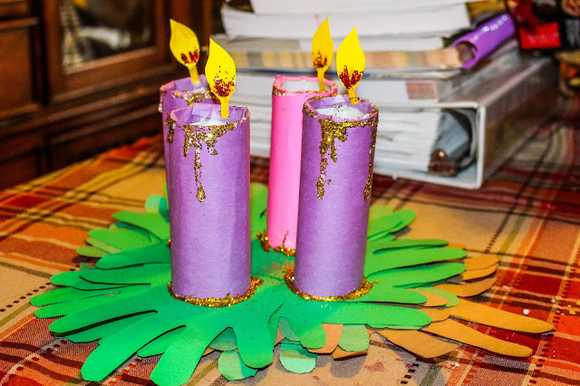 advent, craft, homeschool, holidays