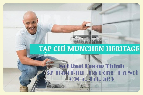 Máy rửa bát Munchen nhập khẩu