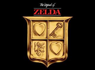 The Legend of Zelda Logo Cover art