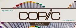 Top 3 Copic Marker Sverige challenge nº39