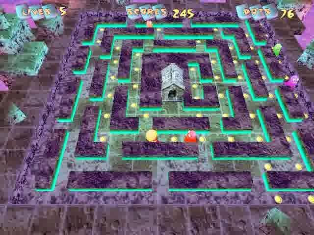 Downlaod Game Pacmanic