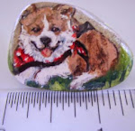 One of a Kind Painted Rocks