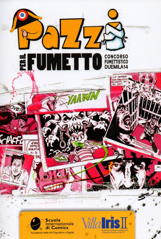 pazzi per il fumetto concorso villa iris 2014 vincitori mirko treccani cover copertina