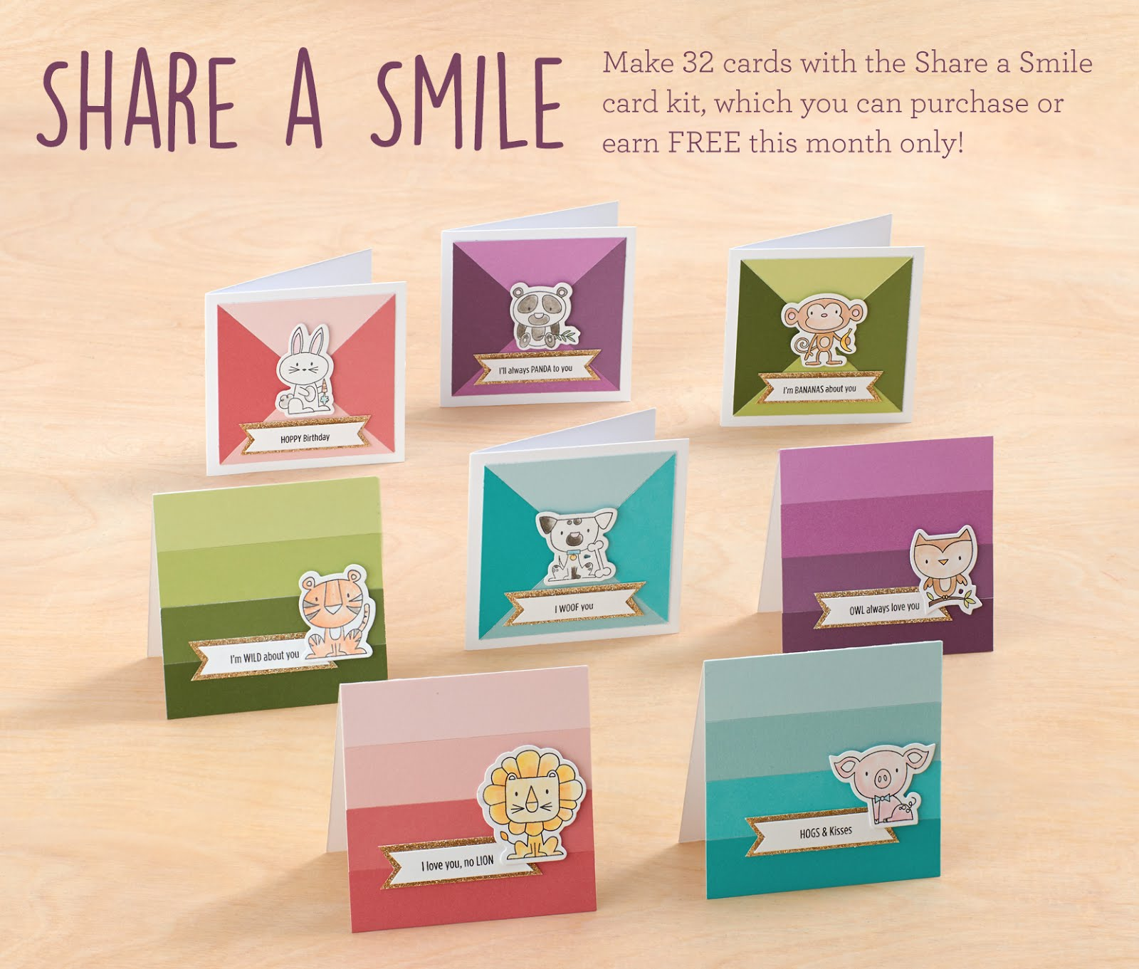 Share a Smile Card Set