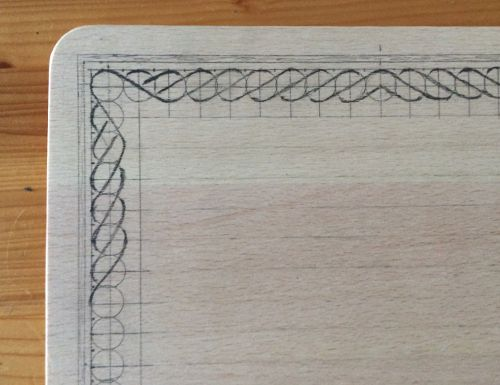 Favorito Intaglio del legno: Sottopentola 3 CT26