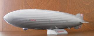 maqueta revell del zepelin lz 129 Hindenburg escala 1/720